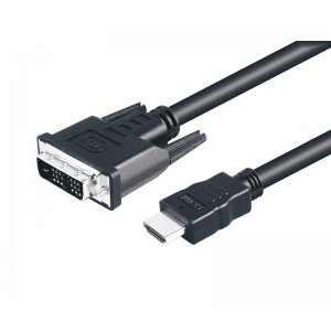 Cable HDMI DVI 1 m